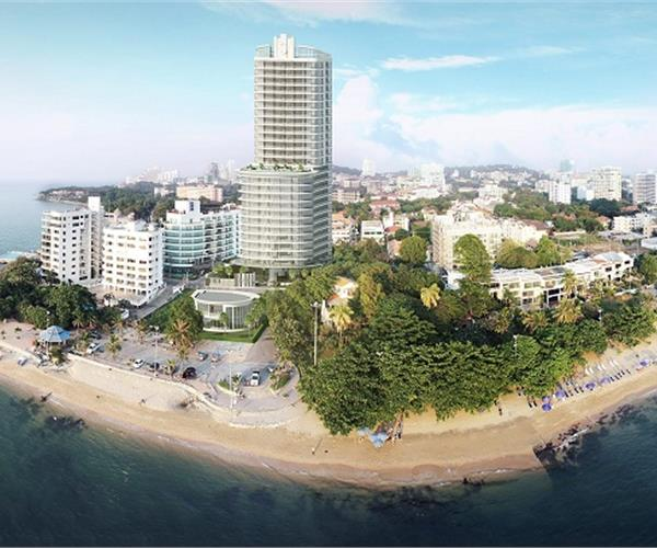 1 bedroom condo for sale near the beach Pratumnak Hill - 5.5 million, reduced from 6 million baht
