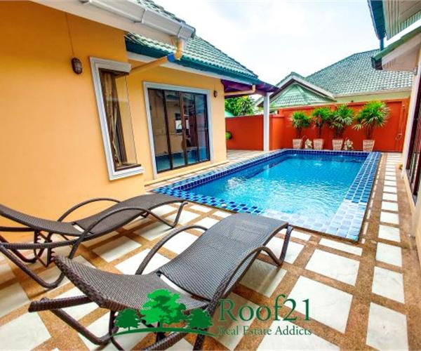 Pool Vilal for Sale or Rent Great Location - Soi Siam Country Club, Pattaya,