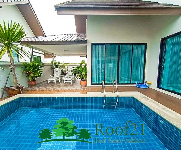 Special offer !!! Beautiful house with pool for Sale/Rent (Huay Yai)