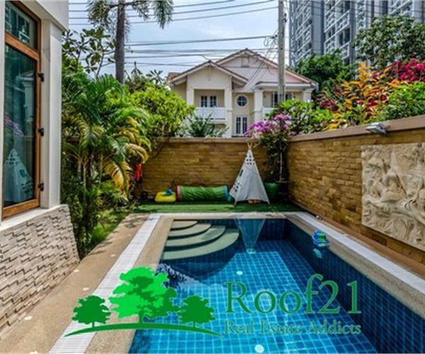 The Best Pool Villa FOR RENT at jomtien