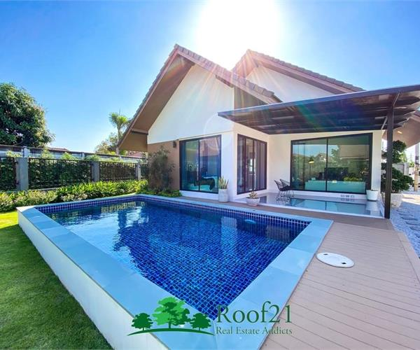 NEW House WITH POOL for less than 4 million Baht.