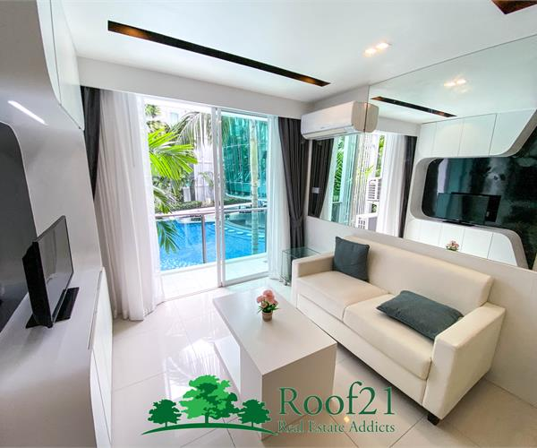 Beautiful condo in Central Pattaya Pool view / P-0020F